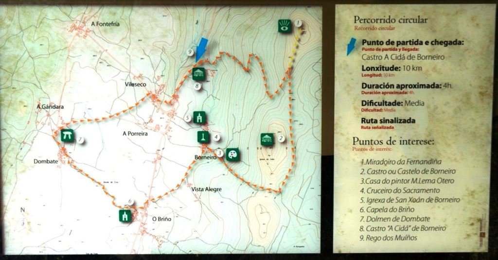 ruta borneiro dombate